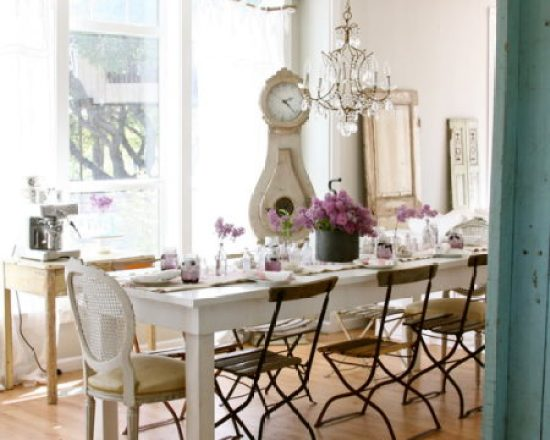 """Shabby Chic Dining Room"""
