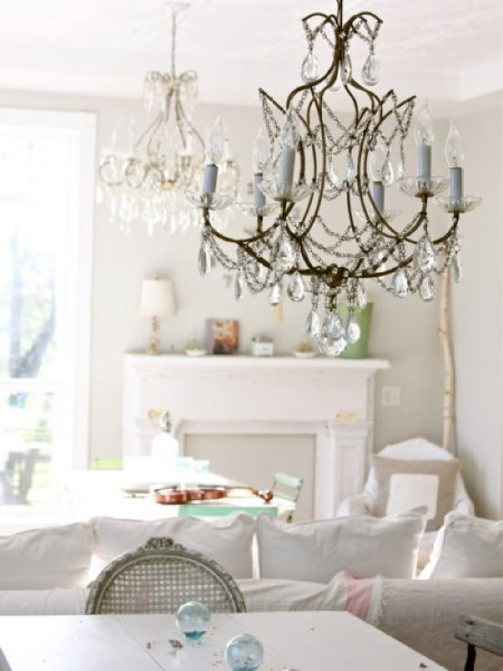 """Shabby Chic Living Room"""