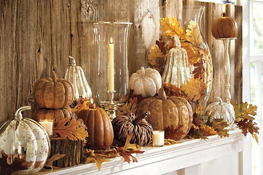 """Fall Mantle Display"""