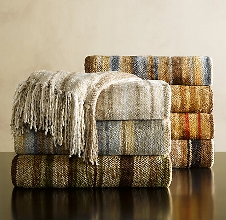 chenille throws Decorate Your Home For Fall