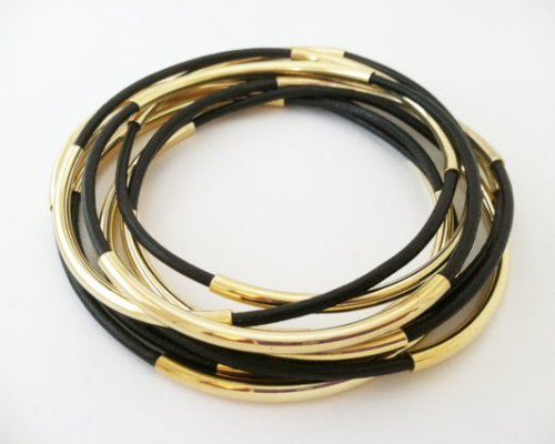 """Leather Bangles"""