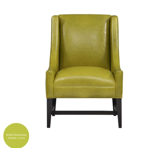 """Bright Chartreuse Accent Chair"""