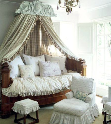 """french country bedroom"""