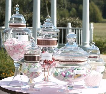 """Apothecary Jars - Candy Buffet"""