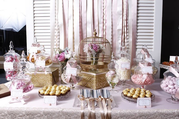 """Vintage Inspired Candy Buffet"""