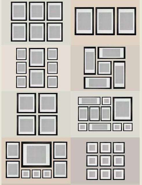 How to Create a Gallery-Style Photo Wall   My Love of ...
