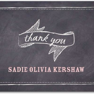 """""""Today's Special Thank You Card"""""""