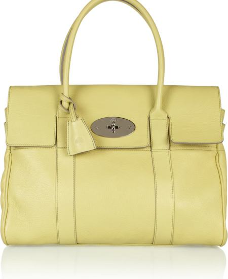 """mulberry yellow bag"""