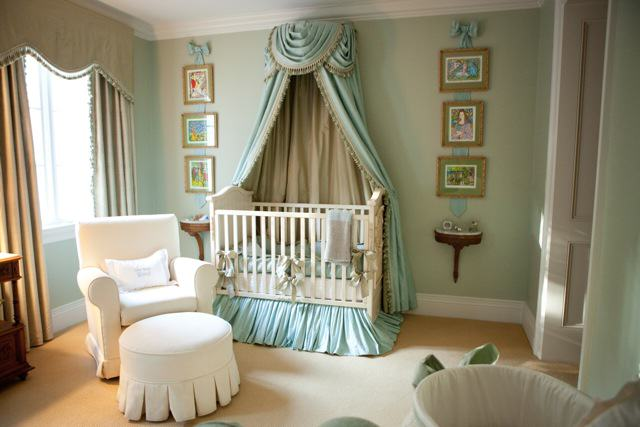 Photo via Nursery Notations ·   : canopy for nursery - memphite.com