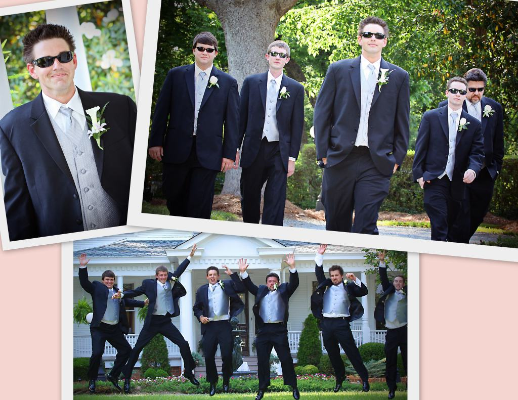 Grooms and groomsmen attire
