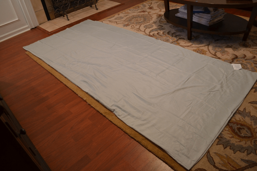 Fold Sheet in half : diy crib canopy - memphite.com