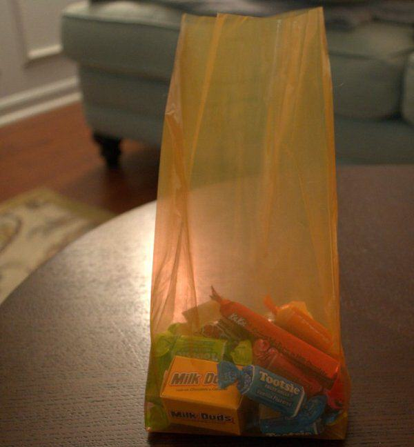 Fill Bag with Candy