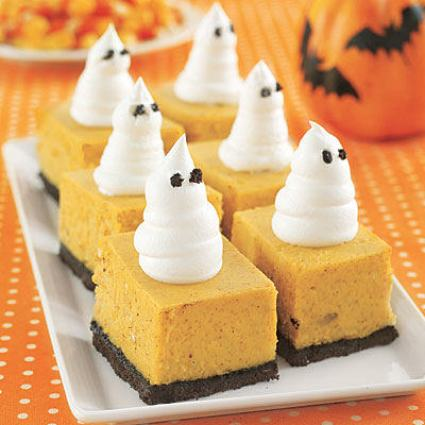 pumkin cheesecake bars