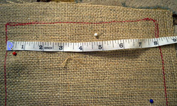 measure width of stocking