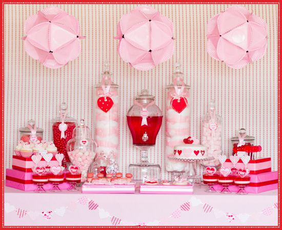 How To Create A Valentines Day Candy Buffet
