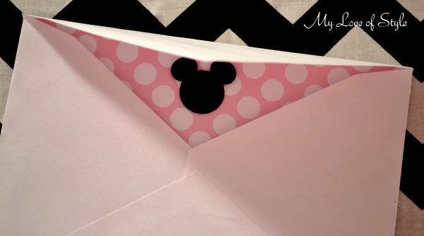 Scrapbook Paper Lined Envelope