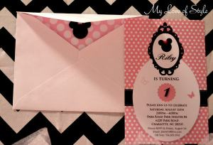 Line an envelope with scrapbook paper