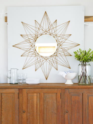 Rope Sunburst Mirror