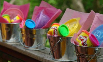 Play-doh Party Favors