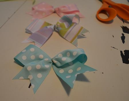 three bows