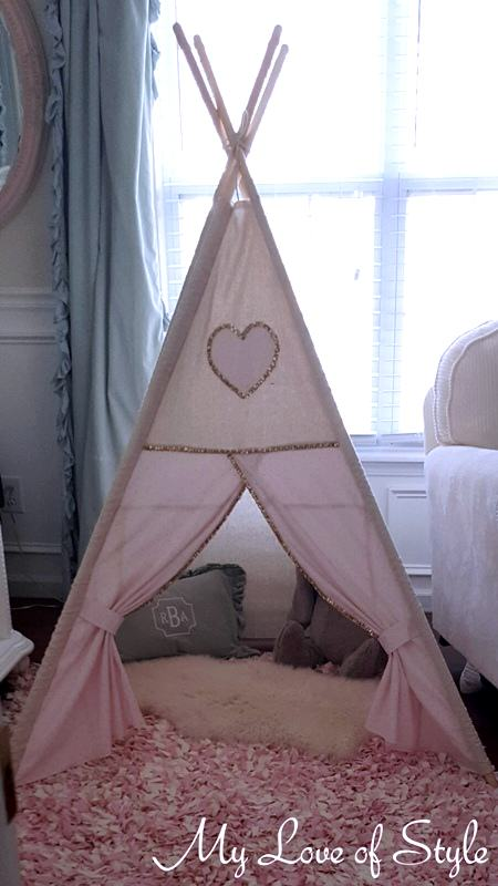 DIY Teepee {Step by Step Tutorial}