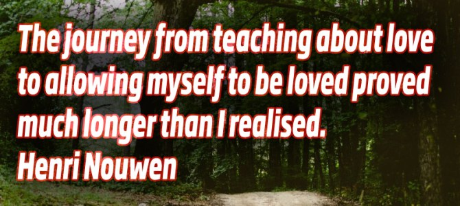 There is long journey from teaching about love to be loved