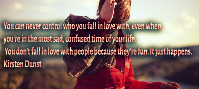 You don't fall in love with people because they're fun