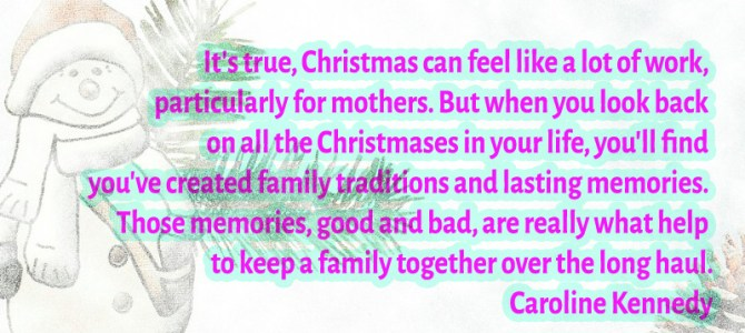 Christmas can feel like a lot of work, particularly for mothers