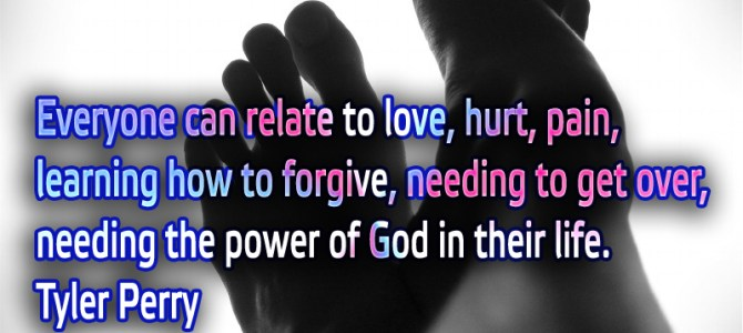 Everyone can relate to love, hurt, pain, learning how to forgive