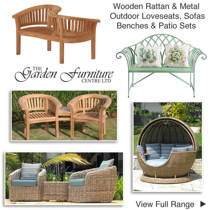 garden loveseats twin companion seats