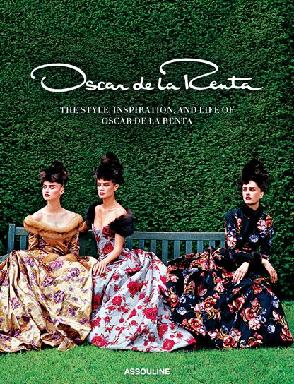 "Sarah Mower's Oscar de la Renta, with cover from ""Couture's Glorious Excess"" (Vogue, October 1997) showing Balmain Fall 1997 haute couture"