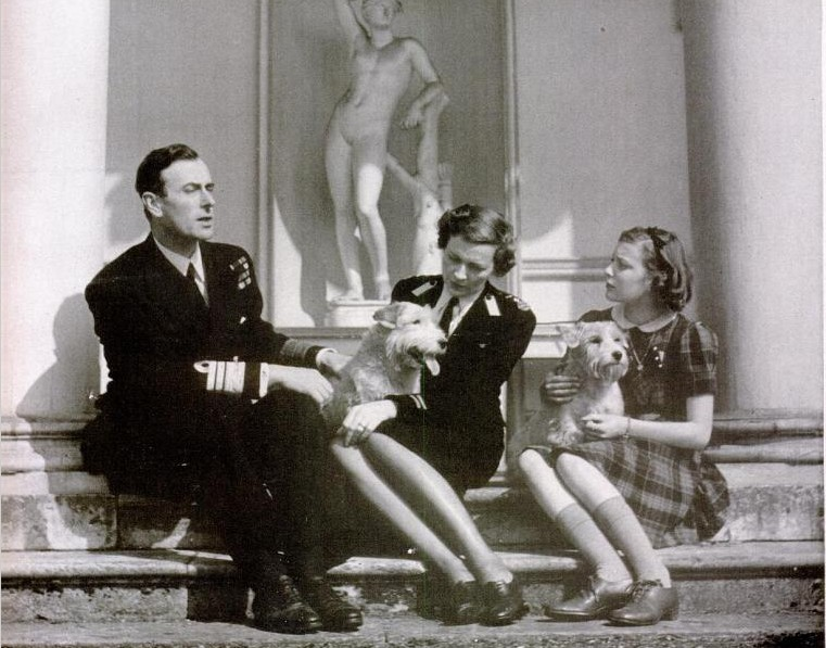 Image result for Patricia Knatchbull and father mountbatten