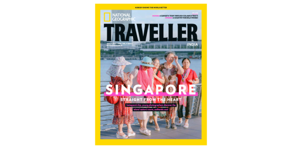 thumbnail of National Geographic Traveller IN 08.2020