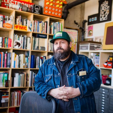 Alumni Profile: Aaron James Draplin, Minneapolis College of Art and Design