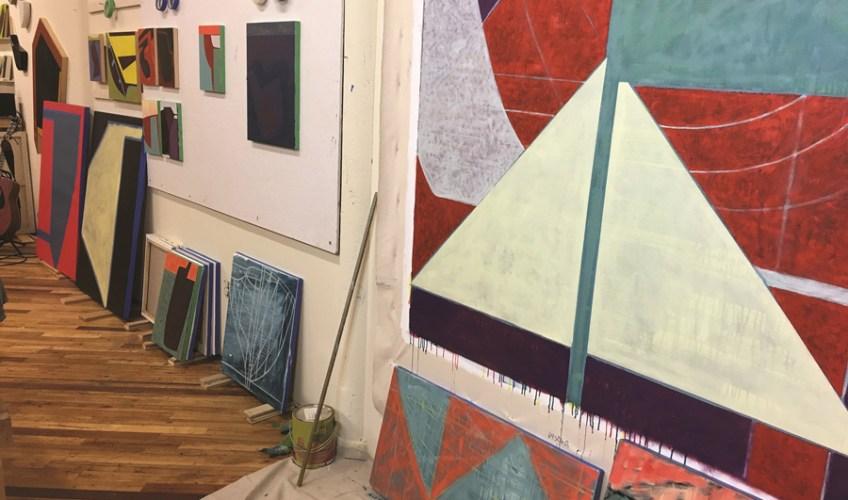 Richard Keen's studio