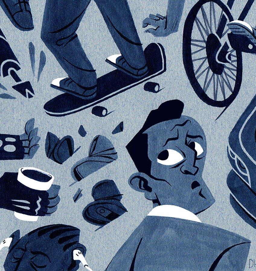 David Henry Lantz (Illustration BFA), Academy of Art University