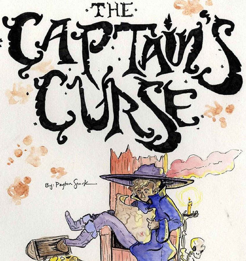 Peyton Stark, The Captain's Curse, Illustration, Minneapolis College of Art and Design