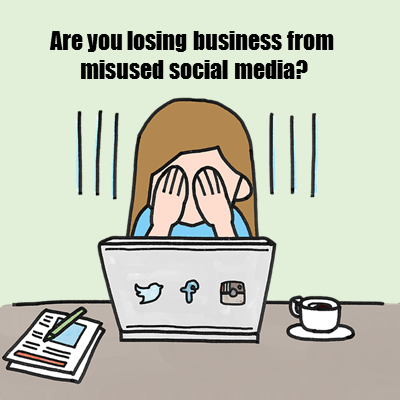dangers of misused social media