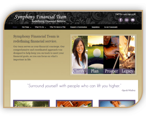Symphony Financial Team