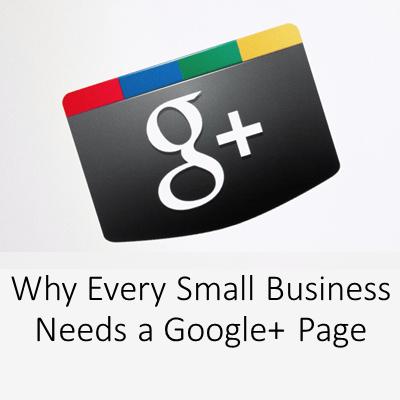 Small Business Google PlusMarketing