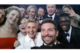 Ellen and her stars selfie