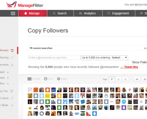 Copy Twitter Followers