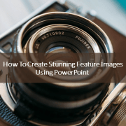 Create Feature Images Using PowerPoint