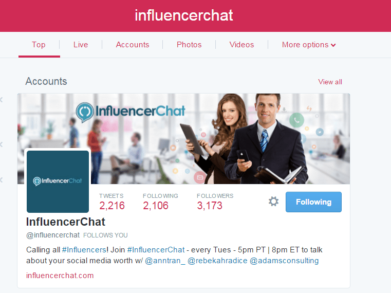 Influencer Chat