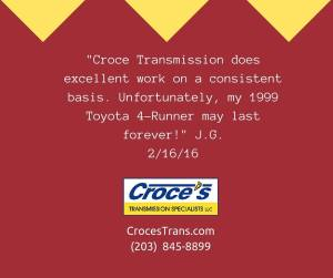Croce's Transmission Specialists Review