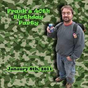 Birthday Party Photobook Cover