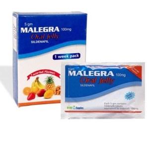Malegra Oral Jelly 100 Mg