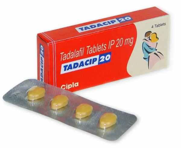 Tadacip 20 Mg Tablet
