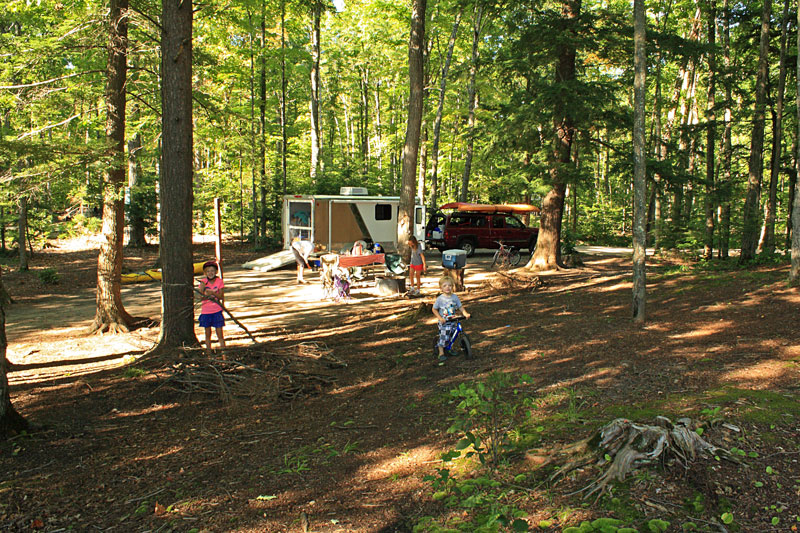Deep Lake Campground Michigan