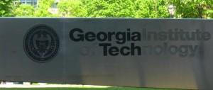 Georgia Tech Sign